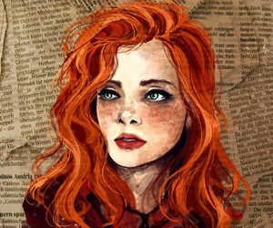 Drawn redhead Redhead  redheads Google winter