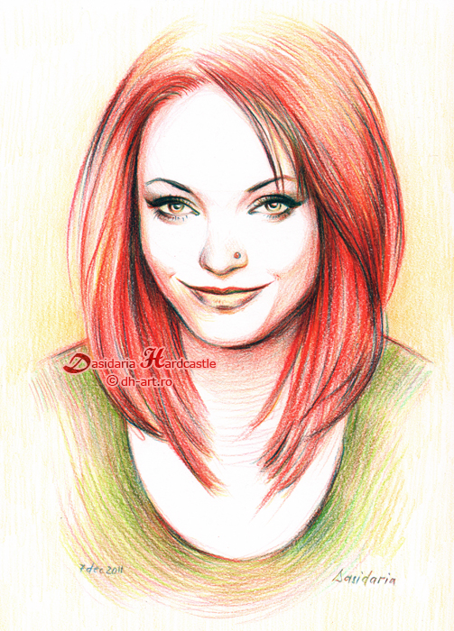Drawn redhead Dasidaria by DeviantArt dasidaria Redhead