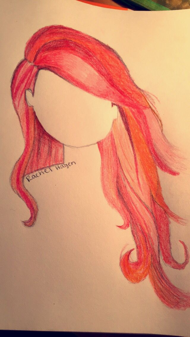 Drawn redhead sad Images #drawing #hairdrawing best by: