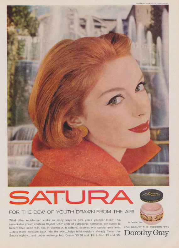 Drawn redhead vintage 1959 Gray Advertisement Mad Ad