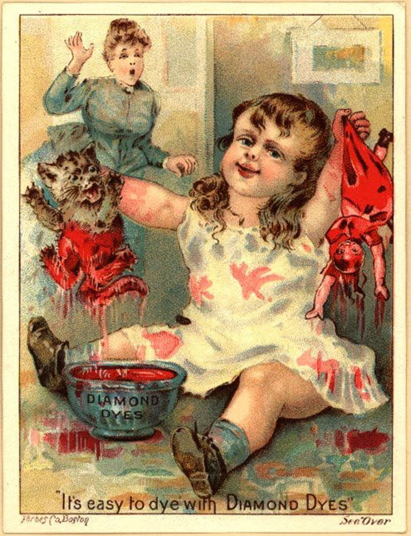 Drawn redhead vintage Why Creepy Murderous Wait Children