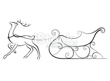 Drawn reindeer Drawing Reindeer ideas Pinterest Best