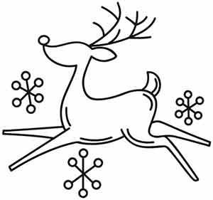 Drawn reindeer awesome Best Pinterest drawing Embroidery Awesome