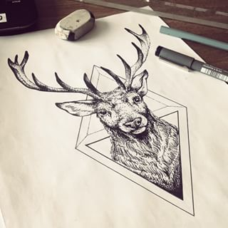 Drawn reindeer awesome Ideas Reindeer 25+ deer Search