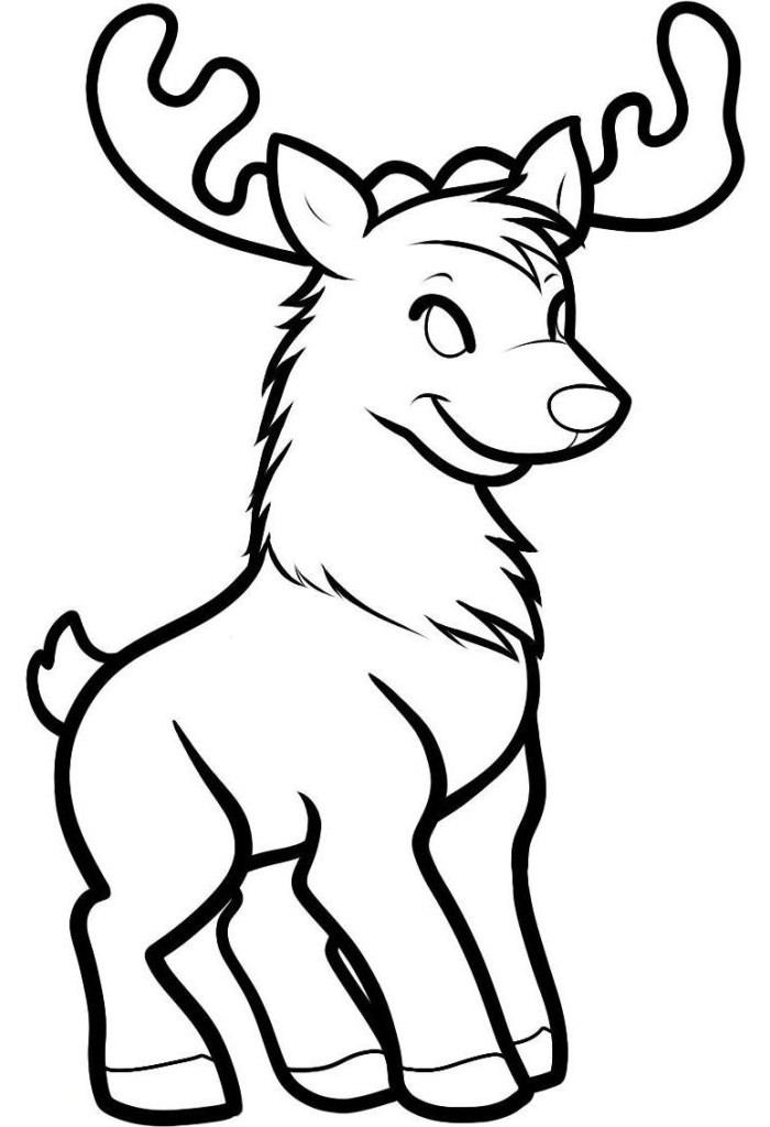 Drawn reindeer baby Reindeer Free Baby Templates Templates