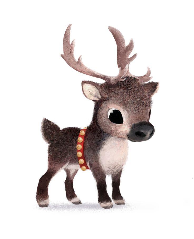 Drawn reindeer baby This Pinterest on Reindeer Find