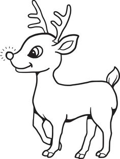 Drawn reindeer baby Reindeer clarice Baby draw How