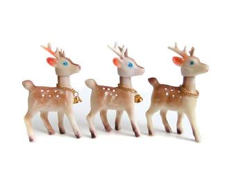 Drawn reindeer bell Kong Reindeer bells Christmas Hong