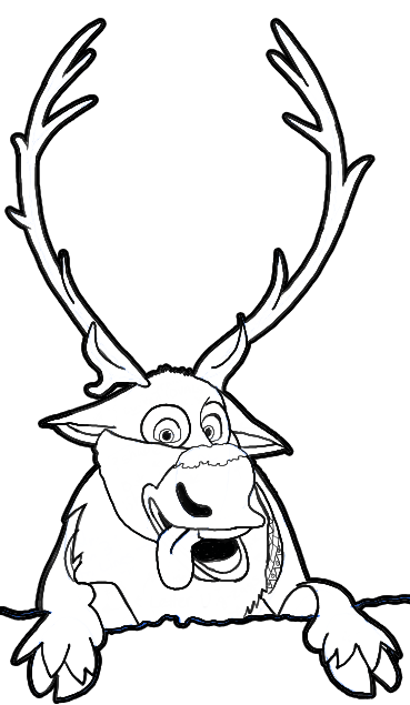 Drawn reindeer black and white Tutorial the Draw to from