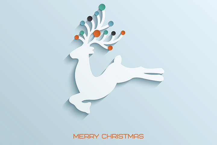 Drawn reindeer card easy For Ideas Christmas All Crafts