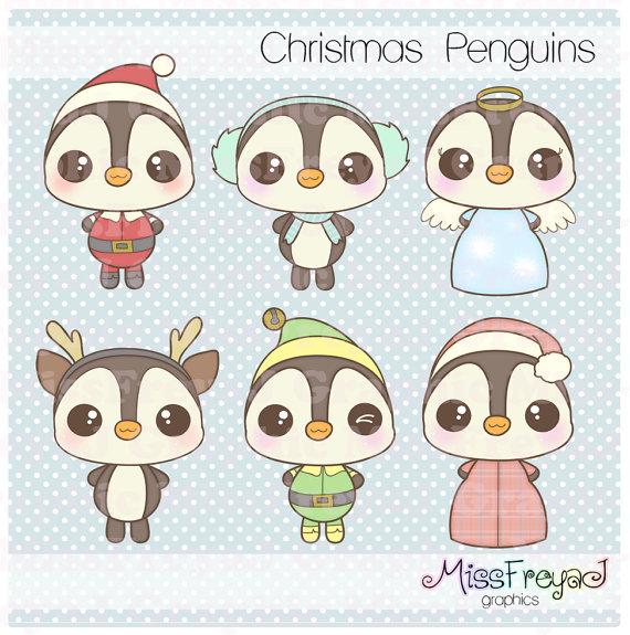 Drawn reindeer chibi  Clip Kawaii Penguins &