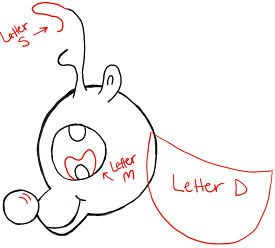 Drawn reindeer chibi Draw chibi How to Rudolph