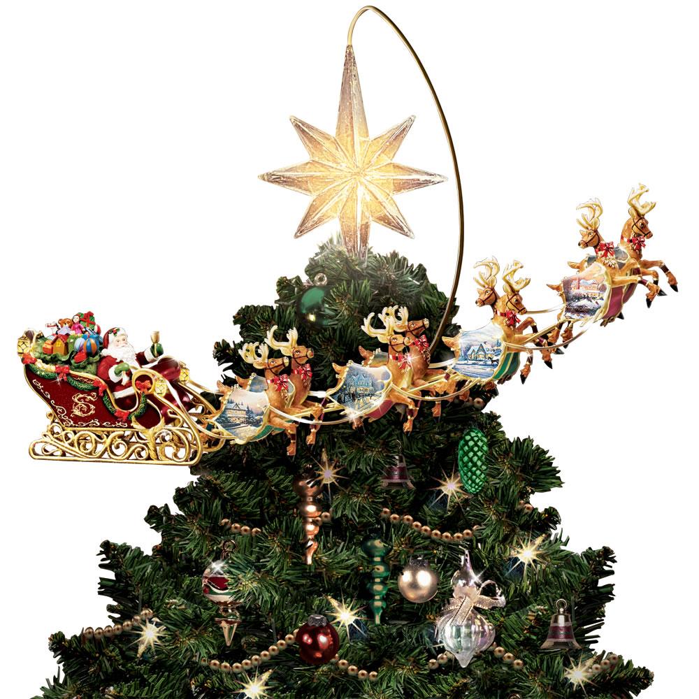 Drawn reindeer christmas tree Hammacher Review The Thomas Christmas