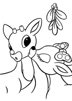 Drawn reindeer clarice The Rudolph Lesson reindeer page