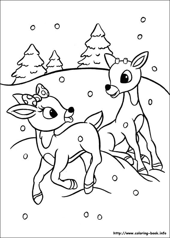 Drawn reindeer clarice Nosed on ideas Pinterest Red