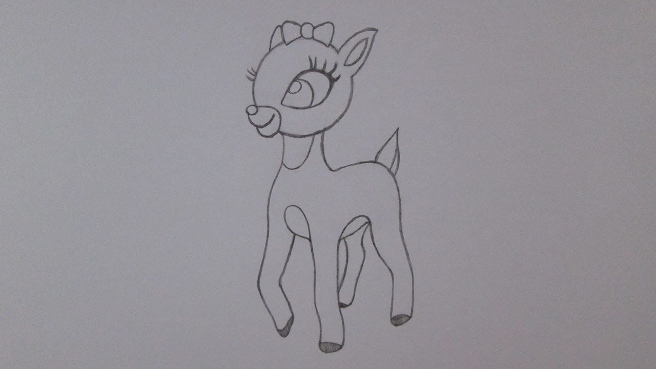 Drawn reindeer clarice Clarice YouTube reindeer draw the