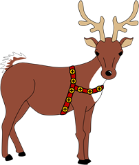 Drawn reindeer doodle How images draw on Blog