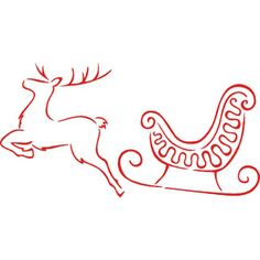 Drawn reindeer flying Drawing  Pinterest reindeer with