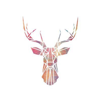 Drawn stag deer antler On #Antlers The Pinterest #Deer