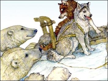 Drawn reindeer jan brett Jan Art on Brett images