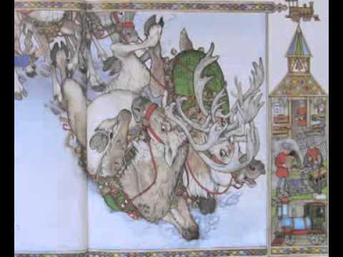 Drawn reindeer jan brett By The Brett Jan Christmas