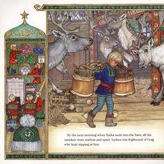 Drawn reindeer jan brett Books Children's Read To 20