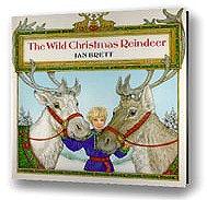 Drawn reindeer jan brett The for Christmas Wild Reindeer