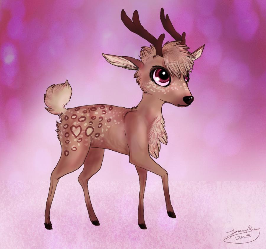 Drawn reindeer kawaii DeviantArt on Vulpse Kawaii by