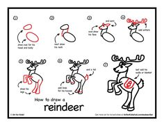 Drawn reindeer kid 200×1 2 Dancing 700 Stick