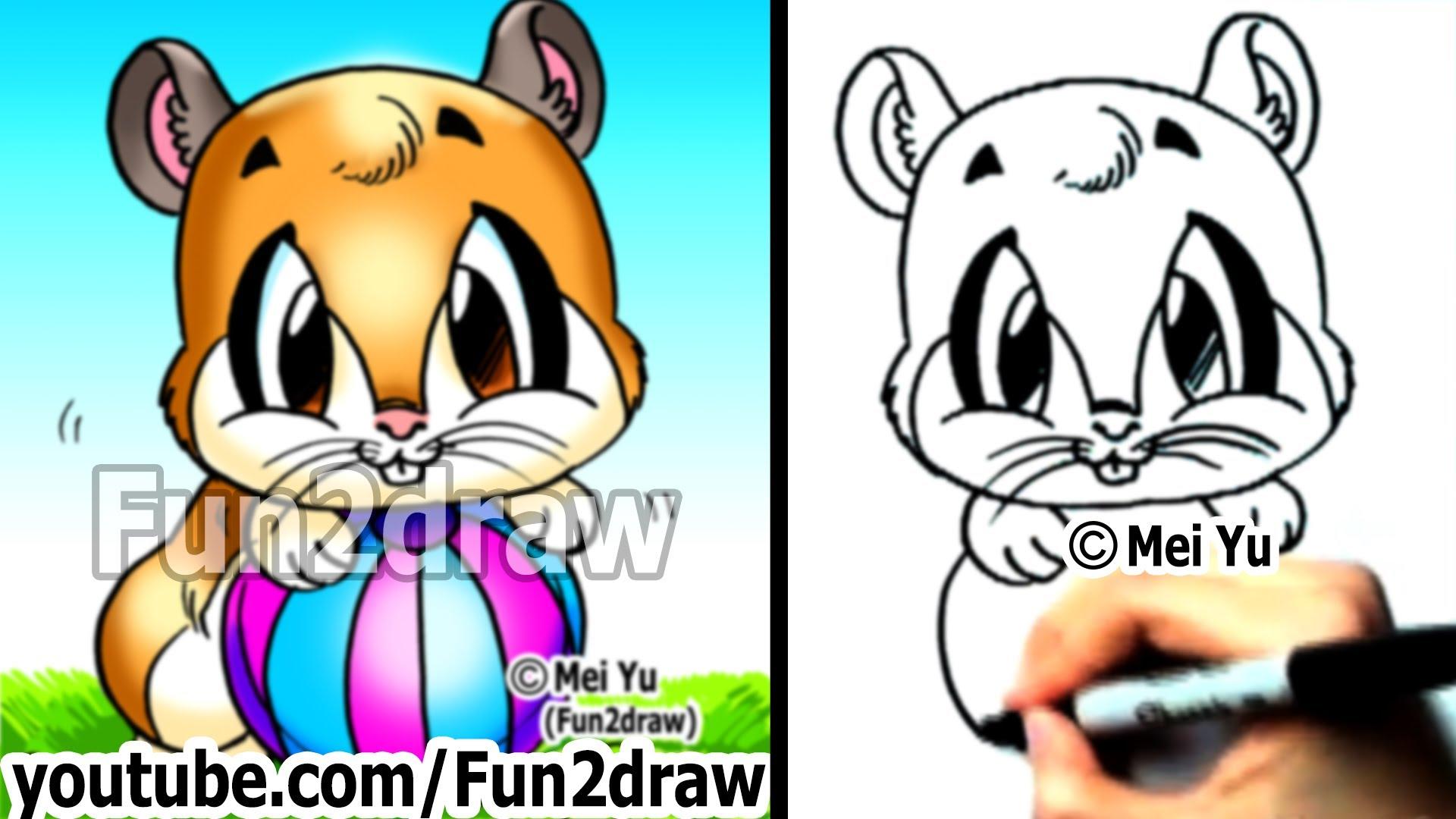 Drawn reindeer mei yu Mei Drawings Easy Drawings Hamster