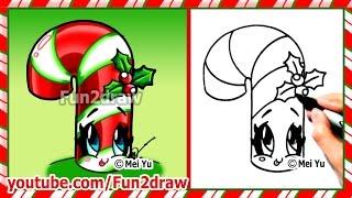 Drawn snowflake fun2draw Christmas Draw Draw to Christmas