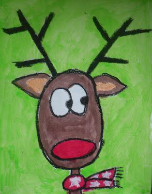 Drawn reindeer pinterest Images 219  Christmas Art