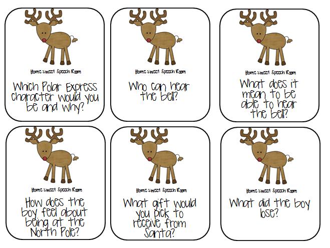 Drawn reindeer polar express And 6 Starters: Polar answer
