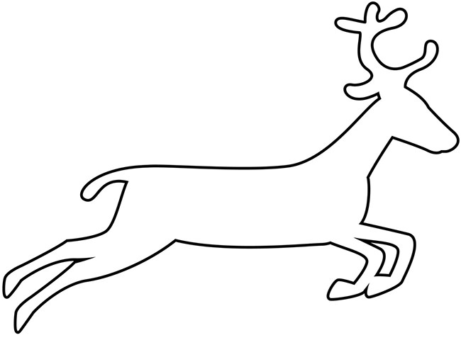 Drawn reindeer raindeer Craft Premium & Templates Templates