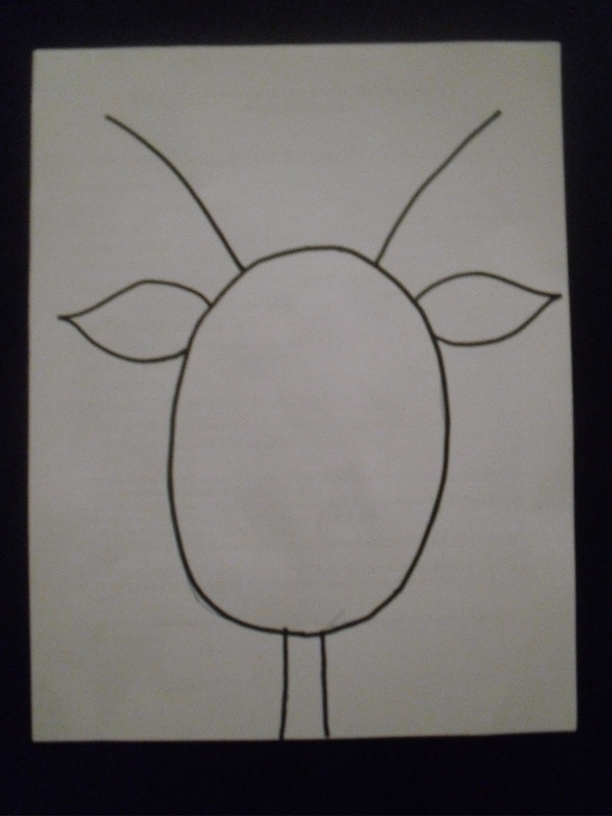 Drawn reindeer raindeer Draw the towards head each