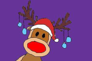 Drawn reindeer rodolfo Red How to Reindeer The