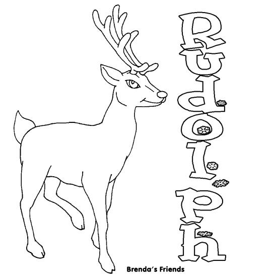 Drawn reindeer rudolph the red reindeer Red Reindeer Rudolph  Nose