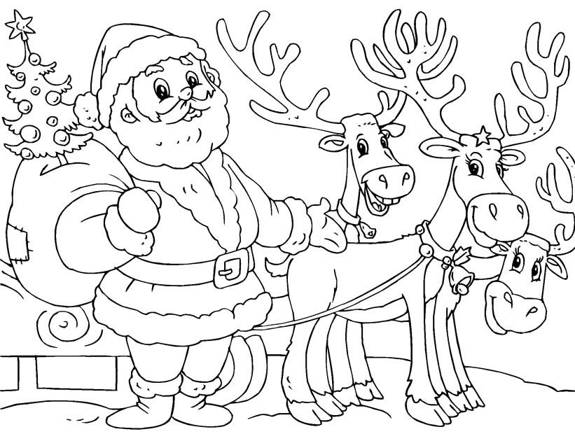 Drawn santa child printable Pinterest Coloring Christmas Coloring Santa