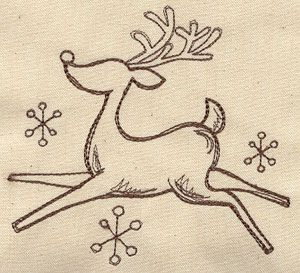 Drawn reindeer simple Retro design Drawing Simple shirts