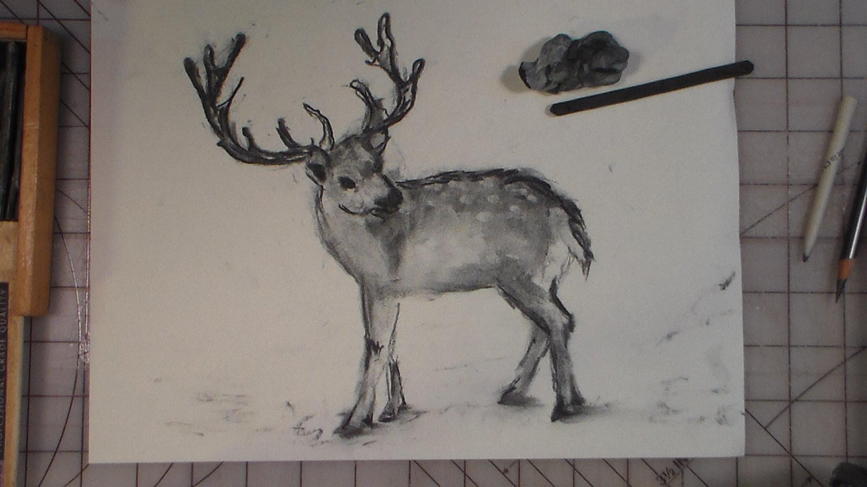 Drawn reindeer sketch YouTube how to draw how