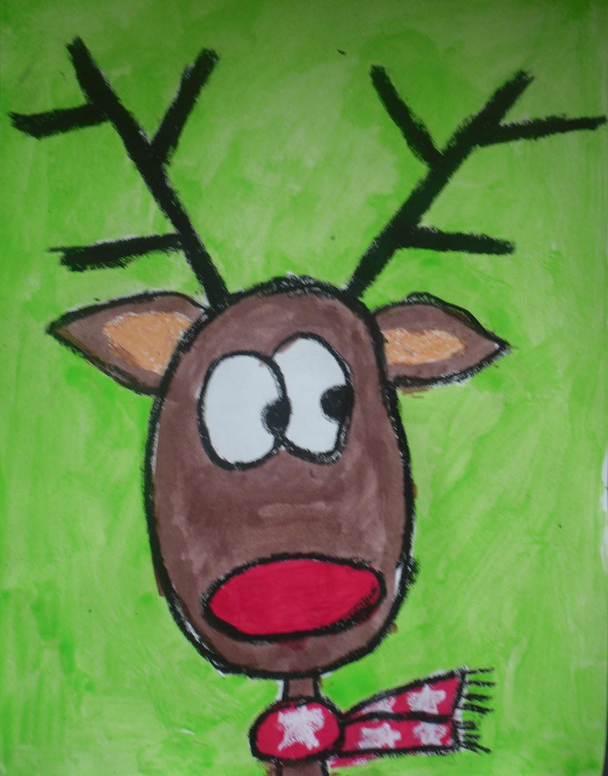 Drawn reindeer step by step Reindeer ARTventurous: Portraits Reindeer Portraits