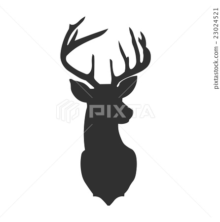 Drawn reindeer vector Drawn Vector Vector head reindeer