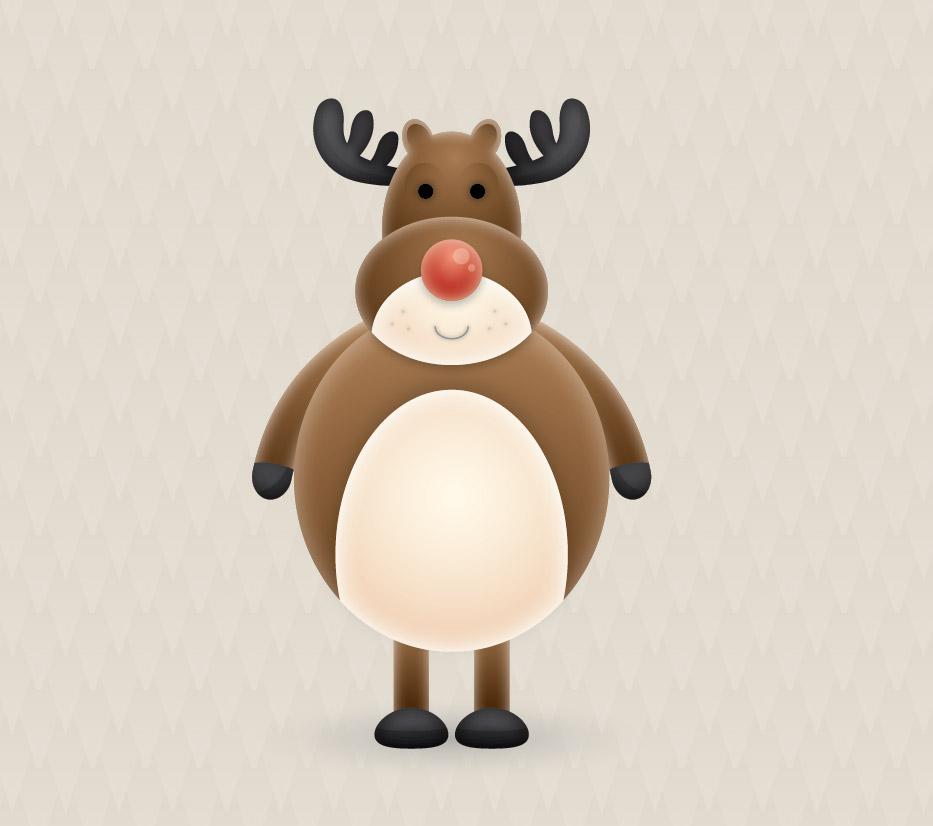 Drawn reindeer vector Vector Vector a Create Reindeer