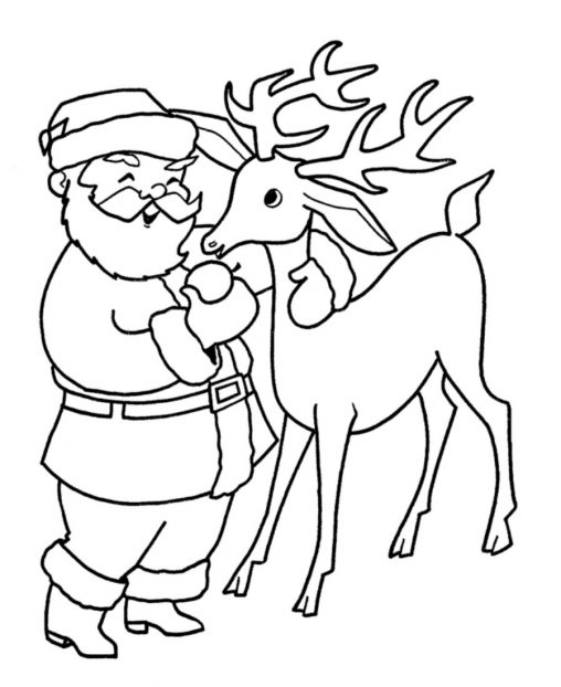 Drawn reindeer wild christmas Pages Pages Pages For Wild