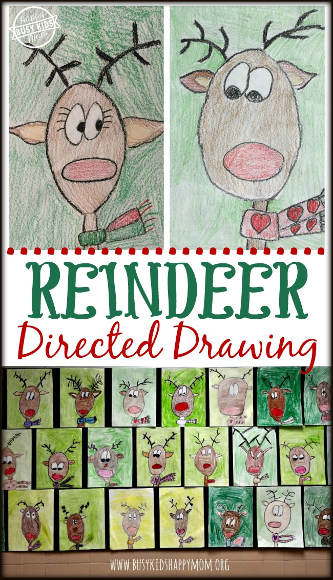 Drawn reindeer xma How a Reindeer to