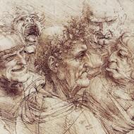 Drawn rennaisance By Renaissance Leonardo Vinci Chalk