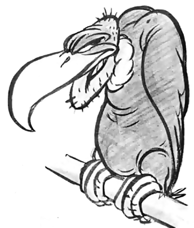 Drawn reptile buzzard Tutorial to How Cartoon Easy