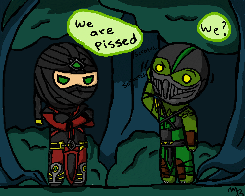 Drawn reptile chibi And by DeviantArt zetsumeininja by