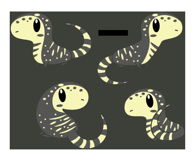 Drawn reptile chibi Tegu Daieny deviantart Pets by