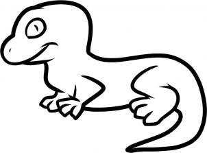 Drawn reptile lizard head Hellokids draw How draw 7
